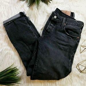 Levi's 501 Red Tab Mom Boyfriend Jeans 25/26 x 32